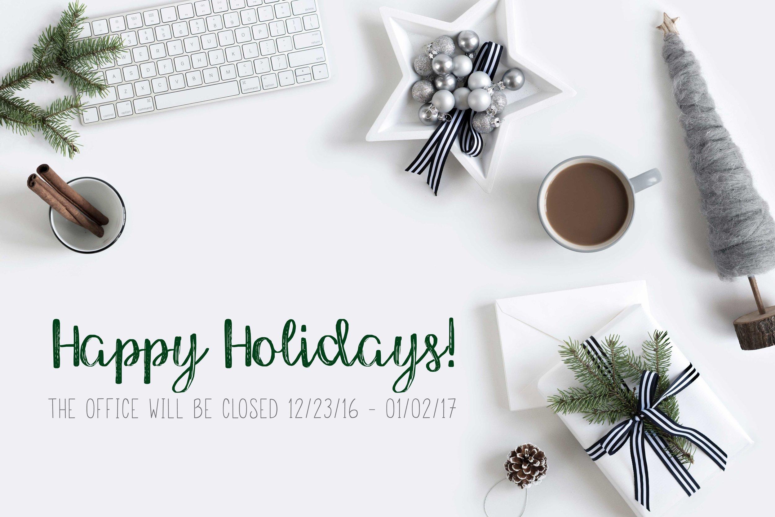 Holiday Hours - SarahMoon.net