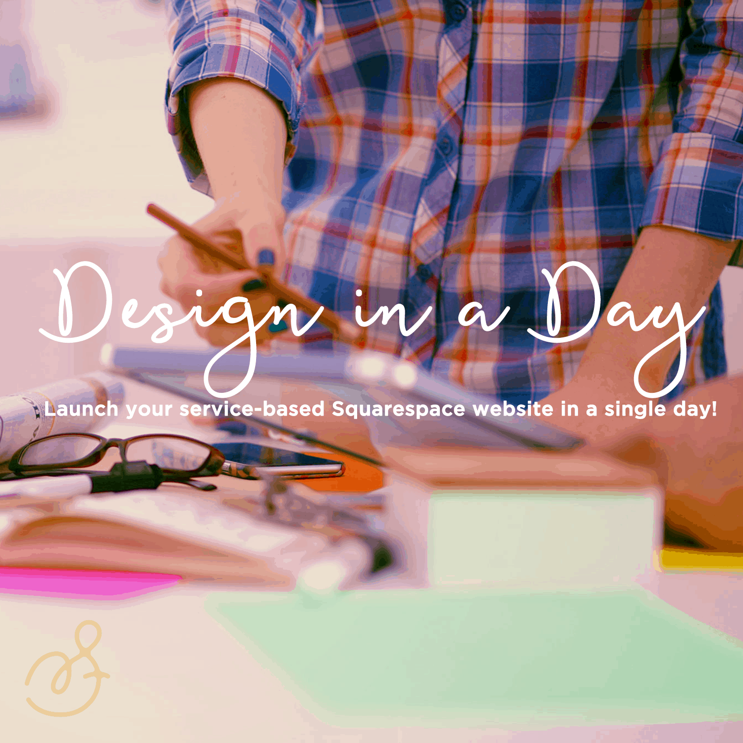 Design in a Day - Launch your Squarespace website in just one day with Sarah Moon & Kath O'Malley. sarahmoon.net