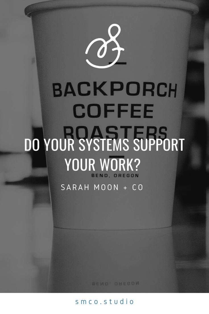 Do your systems support your work?