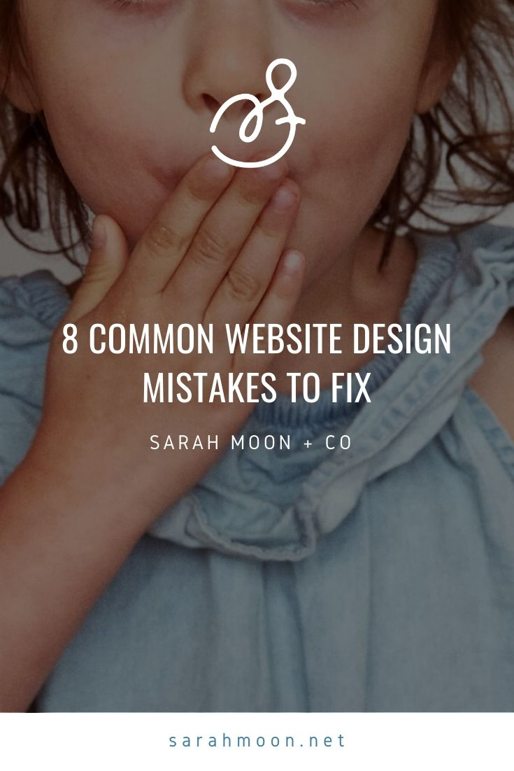 8 Website Design Mistakes to Fix—Especially if You Use Squarespace