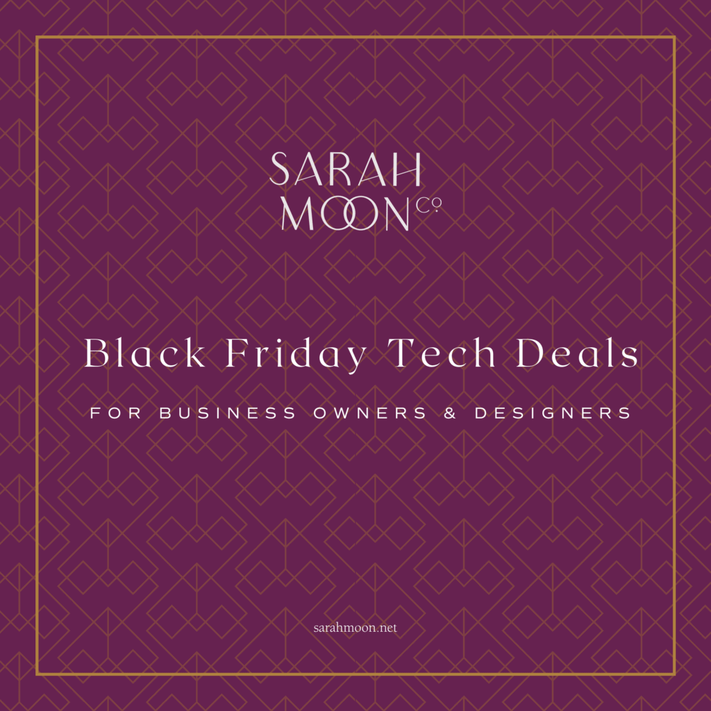 2020 Black Friday Tech Deals for Designers and Business Owners