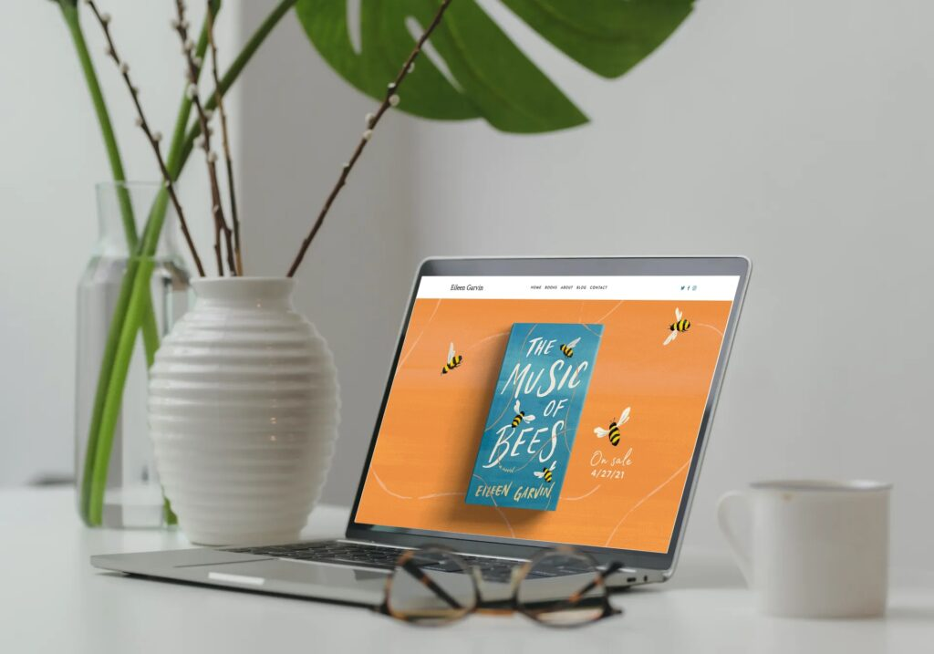 Author Website on Squarespace