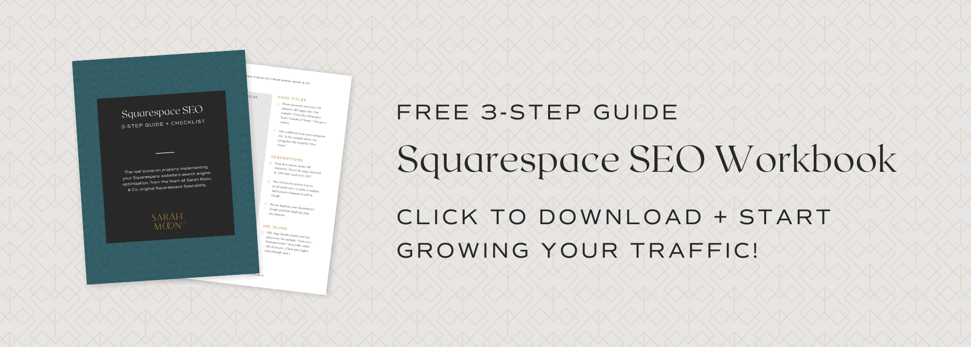 Free Squarespace SEO Guidebook - Updated for 7.1 in 2021!